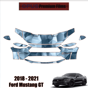 2018 – 2021 Ford Mustang GT – Precut Paint Protection Kit (PPF) Partial Front