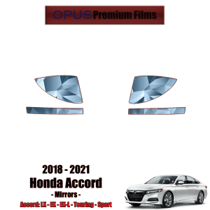 2018 – 2021 Honda Accord – Precut Paint Protection Kit (PPF) – Mirrors