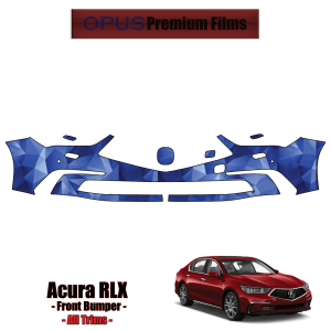 2018 – 2021 Acura RLX – All Trims – Precut Paint Protection Kit (PPF) Front Bumper