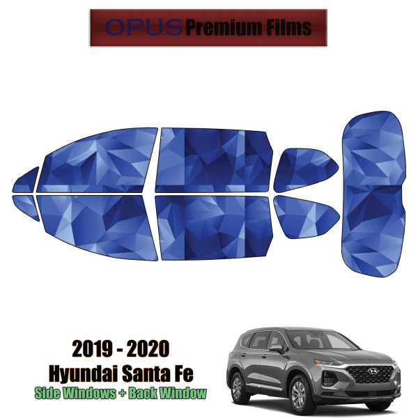 2019 – 2020 Hyundai Santa Fe – Full SUV Precut Window Tint Kit Automotive Window Film)