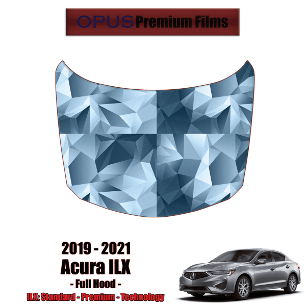 2019 – 2021 Acura ILX – Precut Paint Protection Kit (PPF) Full Hood