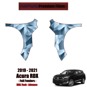 2019 – 2021 Acura RDX – Precut Paint Protection Kit (PPF) – Full Fenders