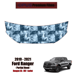2019 – 2021 Ford Ranger Paint Protection Kit (PPF) – Partial Hood