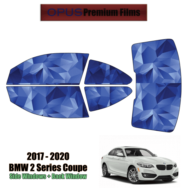 2020 – 2021 BMW 2 Series Grand Coupe – Full Coupe Precut Window Tint Kit Automotive Window Film