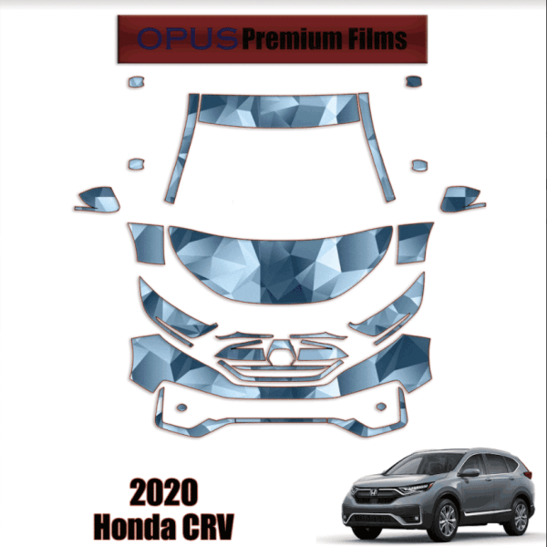 2020 Honda CR-V – Precut Paint Protection Kit (PPF) Partial Front