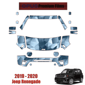 2020 Jeep Renegade – Precut Paint Protection Kit (PPF) Partial Front