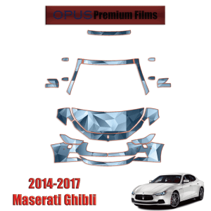 2014 – 2017 Maserati Ghibli – Paint Protection Kit
