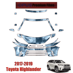 2017 – 2019 Toyota Highlander – Paint Protection Kit