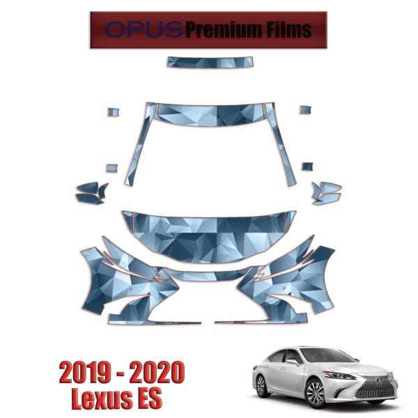 2019-2020 Lexus ES – Paint Protection Kit