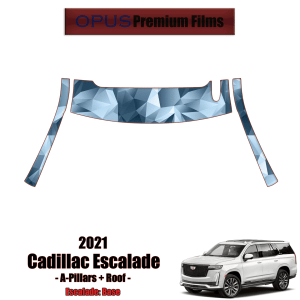 2021 Cadillac Escalade – Precut Paint Protection Kit (PPF) A-Pillars + Roof Top