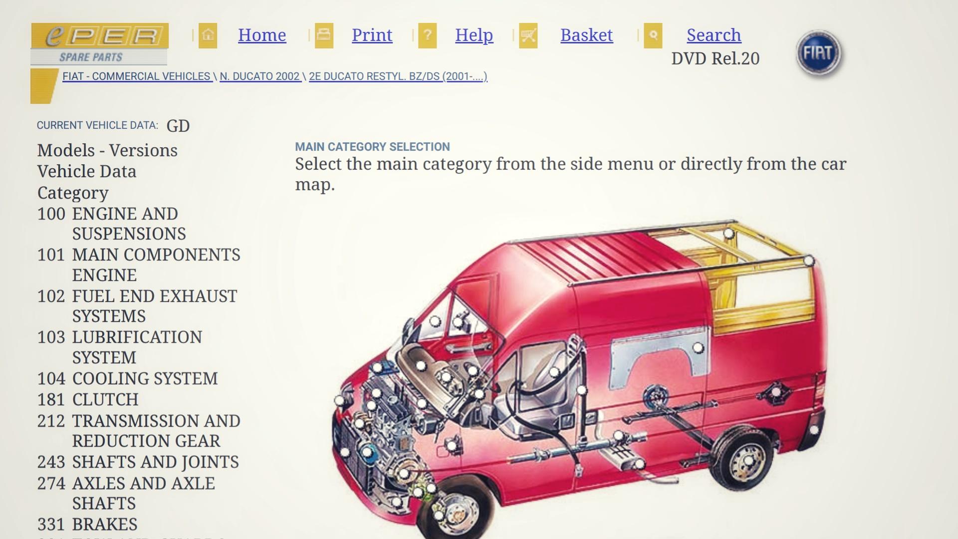 Fiatforum: tekeningen en onderdeelnummers oude modellen