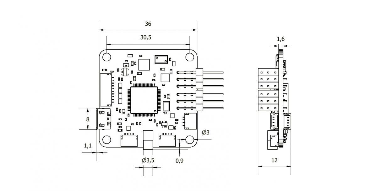 cc3d wiring to receiver setup cc3d flight controller youtube
