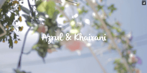 Azrul & Khairani : The Wedding Reception 2