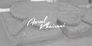 Azrul & Khairani : The Wedding Reception