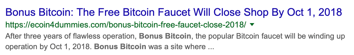 bitcoin faucet don t miss your