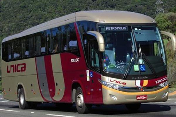 Preço do ônibus para Petrópolis