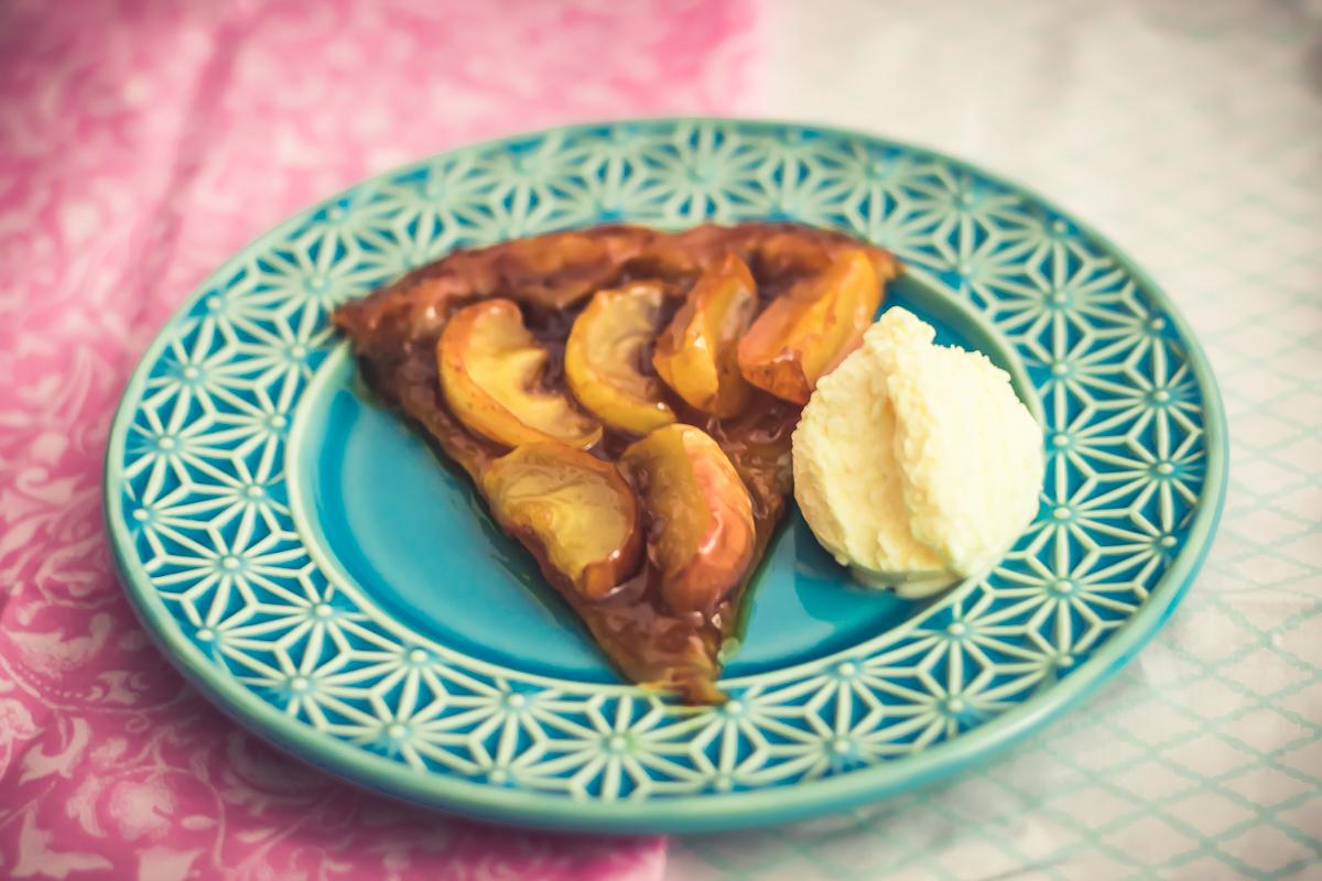 tarte tatin de maçã torta