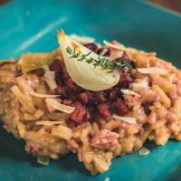 Risoto de Linguiça, Cebola e Tomilho - Alimentando amizades