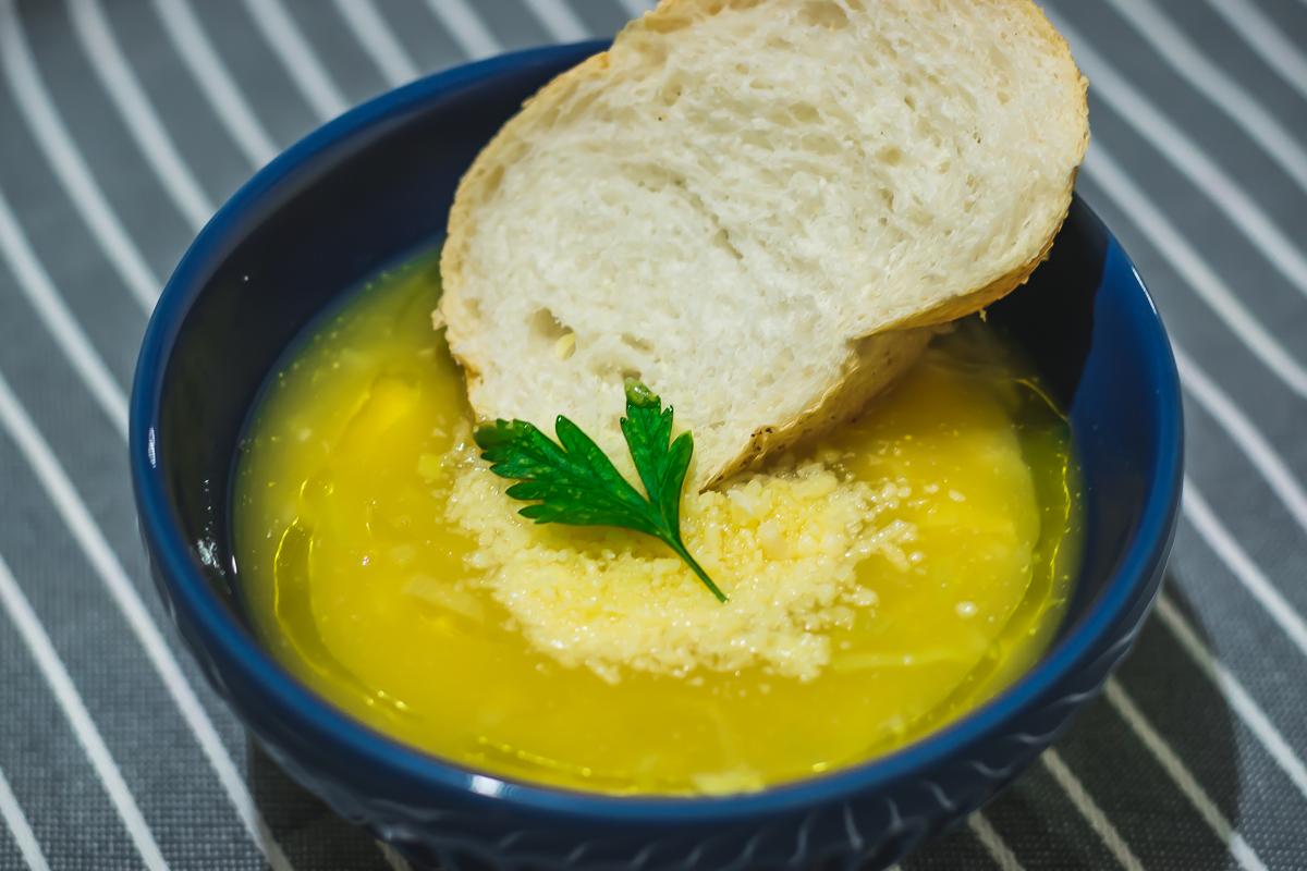 Receita Sopa de Mandioquinha com Frango