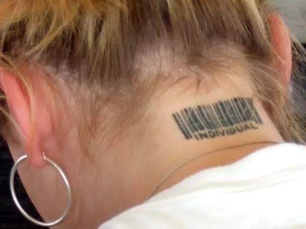 code barre tatouage