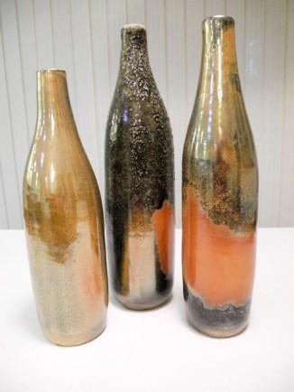 Glenn Decherd 3 vases