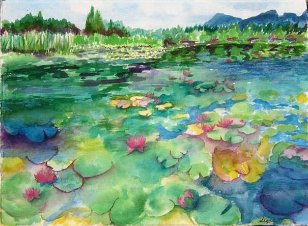 Sharon Segal Painting - Mixed Media