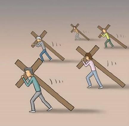 Carregue sua cruz por completo (1/6)