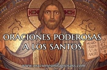 rezos a los santos