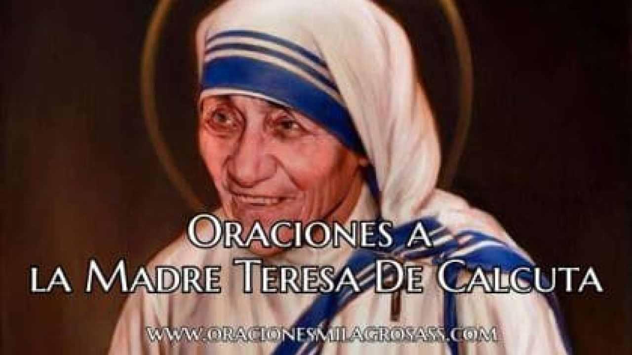 7 Oraciones A La Madre Teresa De Calcuta