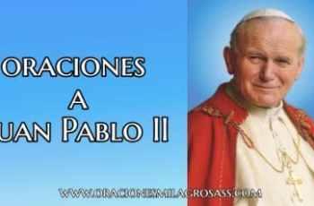 Plegarias a Juan Pablo II