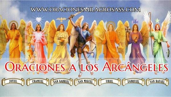Rezos a los 7 arcangeles
