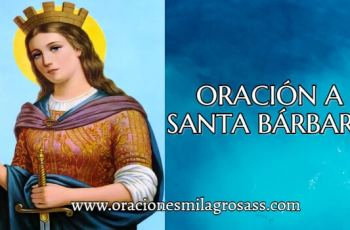 como invocar a santa barbara bendita