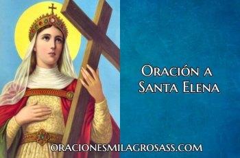 oracion de santa elena
