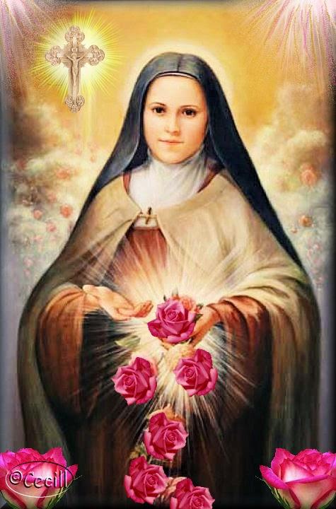 Oración a Santa Teresa del Niño Jesús