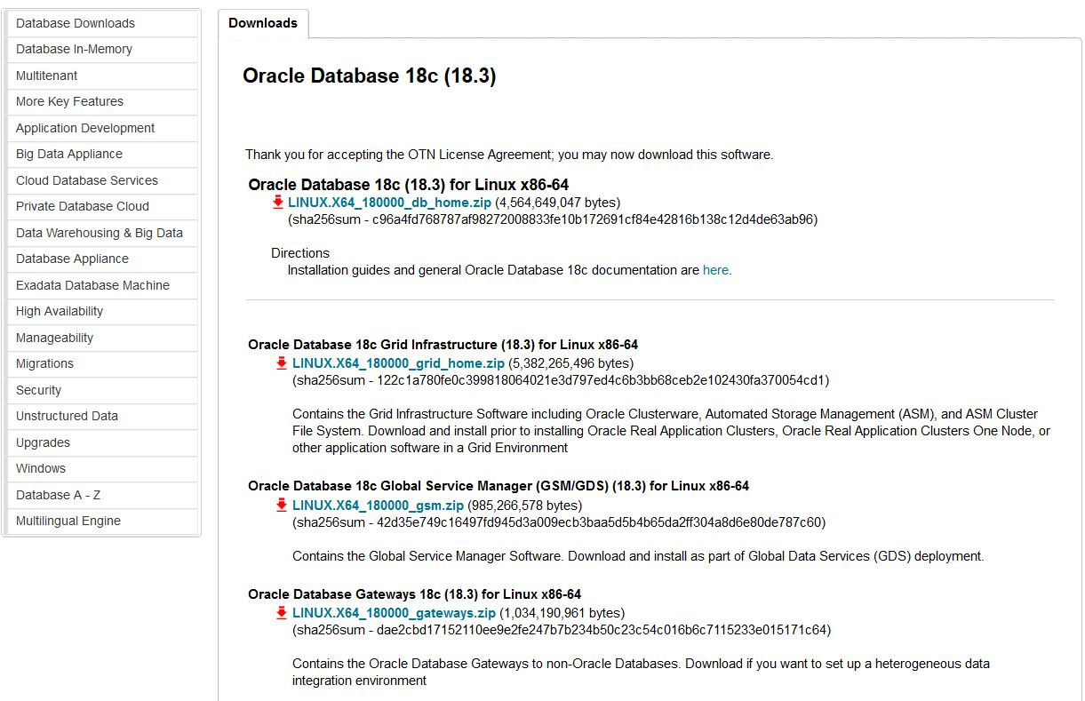 Finally, the wait is over!! Now Oracle 18c is Available for
