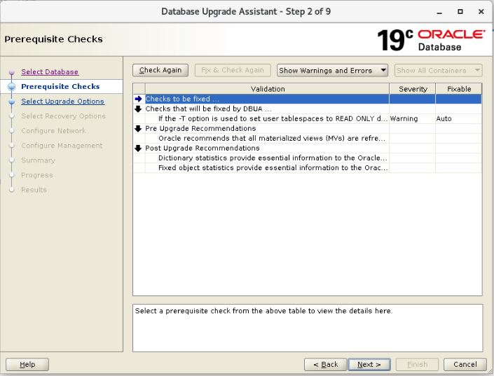 Oracle 19c Database Upgrade From 11.2.0.4 to 19.2.0.0 Using DBUA | | Oracledbwr