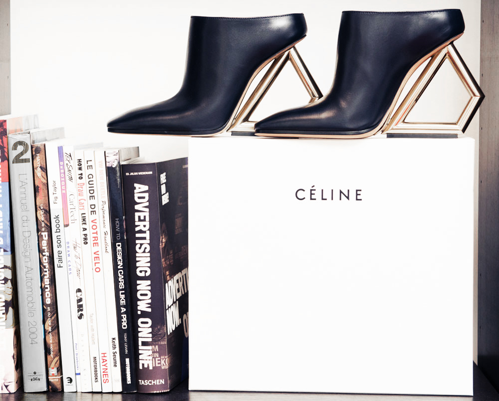 Mandy Shadforth Celine Shoes, Givenchy bag margiela