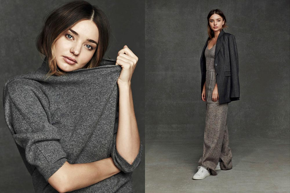 miranda kerr sunday style editorial celine knitwear jumper sneaker sunday style oracle fox