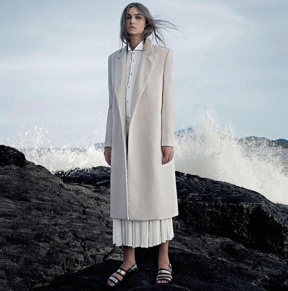 marie claire brazil brazil fashion magazine june 2014 isabela wing gustavo zylbersztajn slides coat  monochrome style