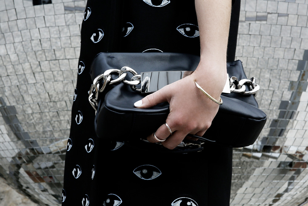 Kenzo, jacket, eye, black, proenza, schouler, skirt, white, maison, martin, margiela, chain, clutch, bag,metal, mules, stella, luna, spectre, sunglasses
