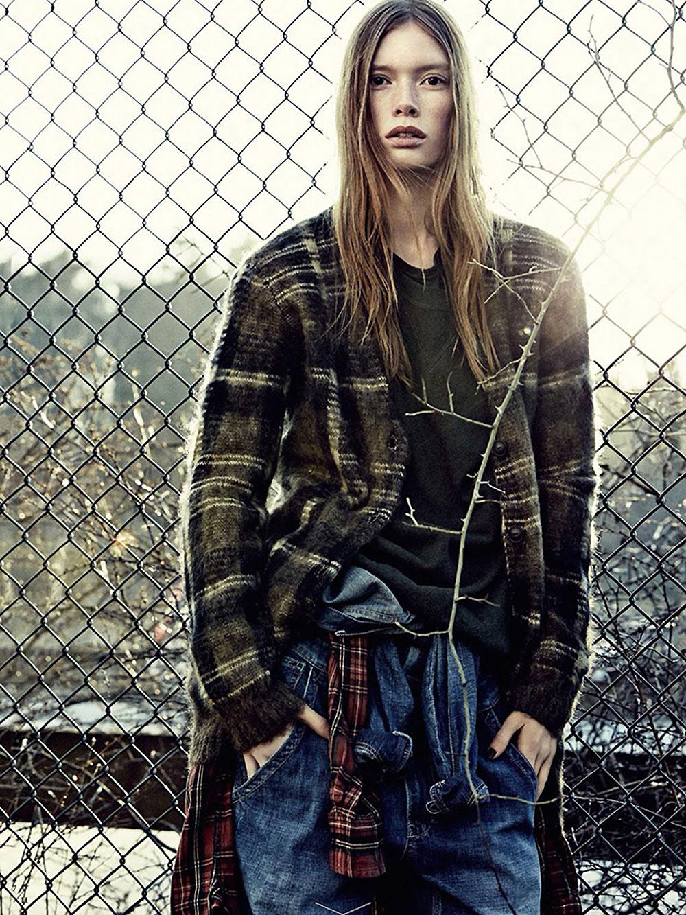 julia, hafstrom, model, andreas, sjodin, elle, sweden, fasion, magazine, oracle, fox