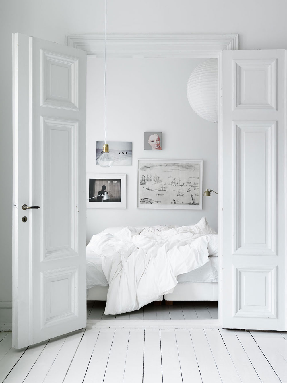 White, Home, Interior, Industrial, Minimal Inspiration, Bedroom, Oracle Fox