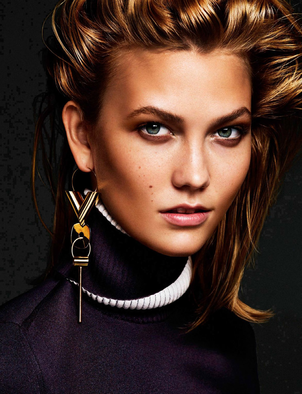 karlie, kloss, apique, vogue, netherlands, october, 2014, fashion, editorial, oracle, fox