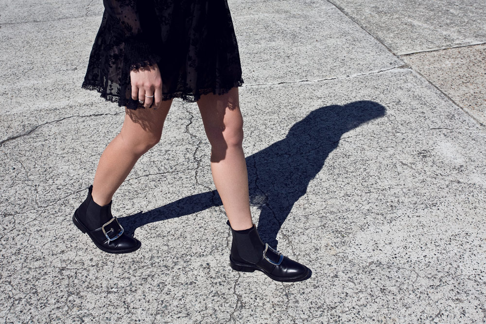Valentino, Black, Lace, Dress, Givenchy, Buckle, Boots, Personal, Outfit, Oracle, Fox