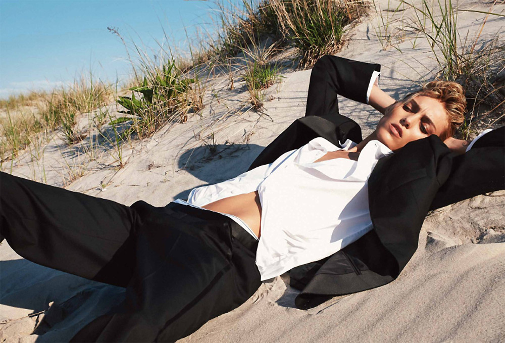 anja, rubik, collier, schorr, flair, magazine, number, 13, October, 2014, beach, smoking, suits, sissy, vain, oracle, fox