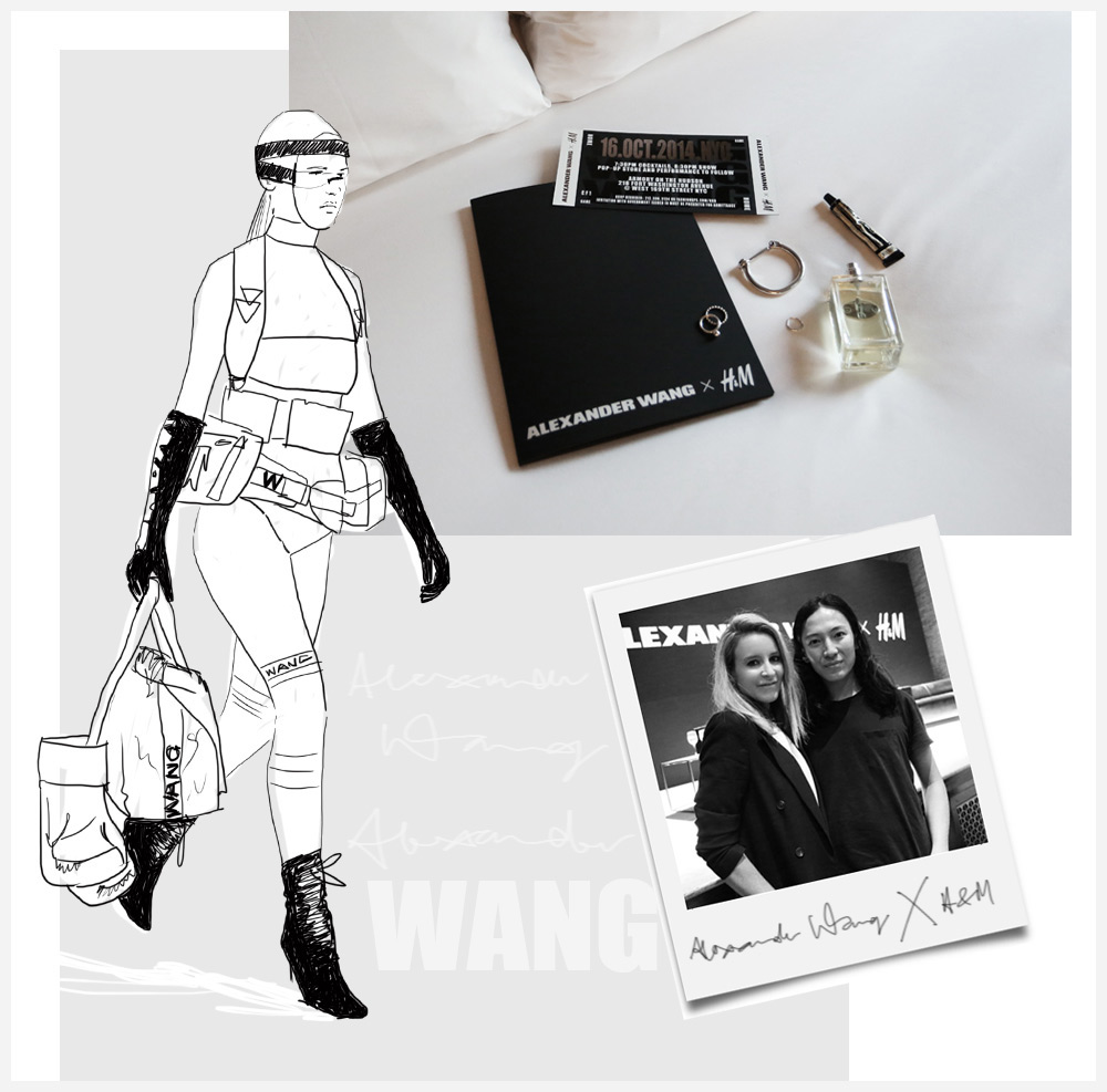 Alexander, Wang, H&M, Collaboration, Collection, Online, Oracle, Fox, Illustration, Binx, Walton, Adriana, Lima, New York, Photo, Diary