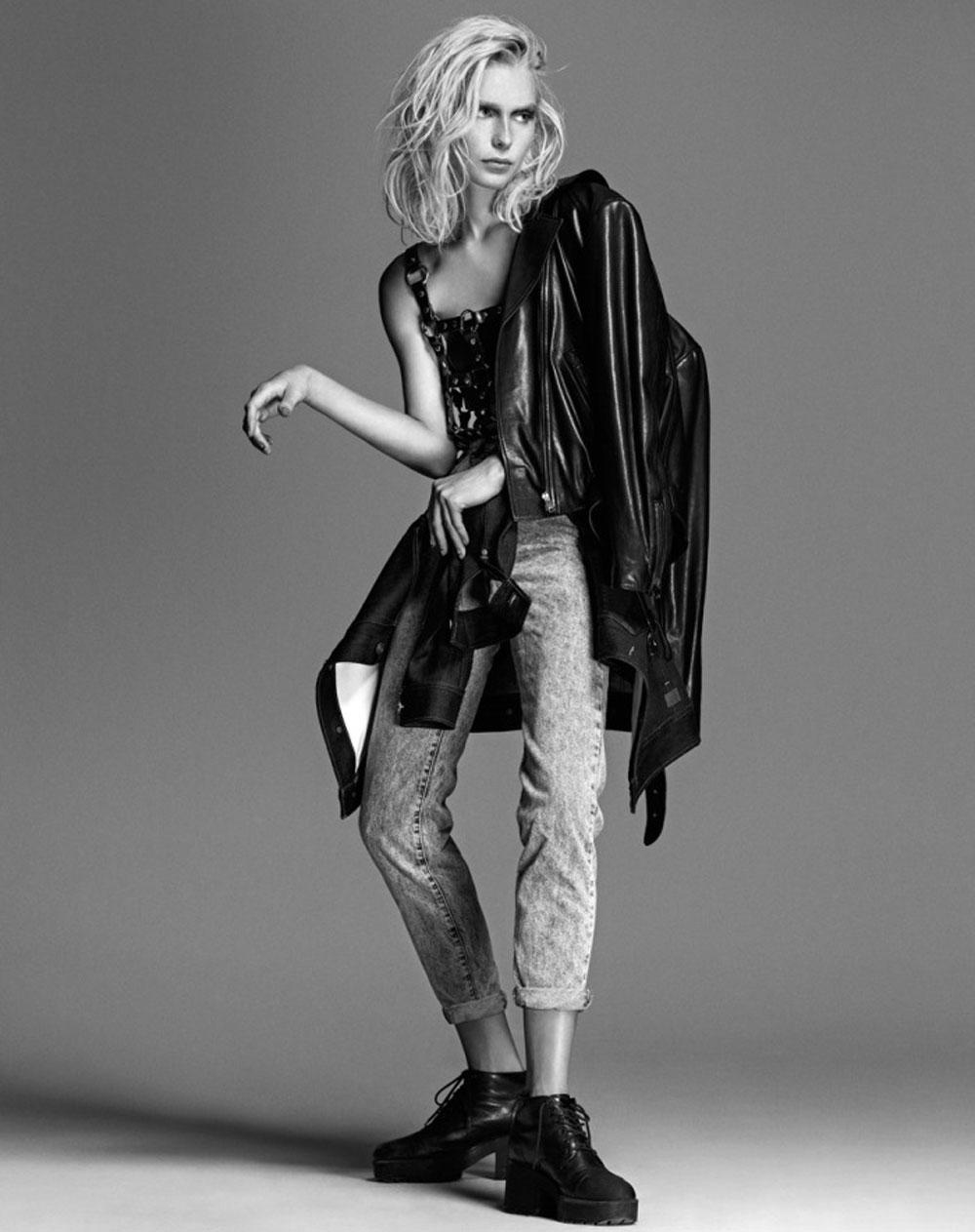 Stephanie, Cook, Koray, Parlak, XOXO, Magazine, November, 2014, leather, sheer, editorial, oracle. fox