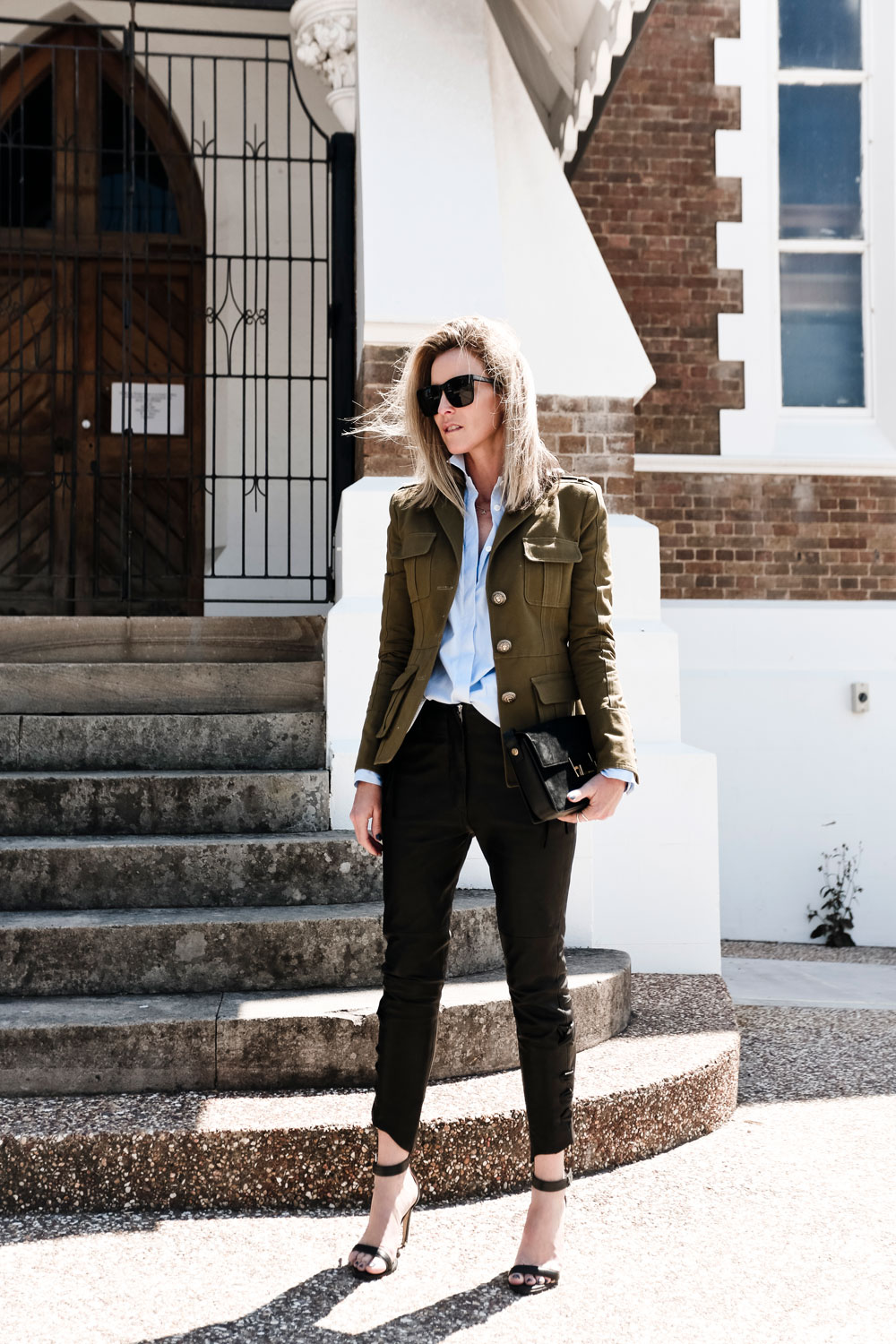Balmain, Military, Jacket, Black, Jeans, Personal, Style, Oracle, Fox