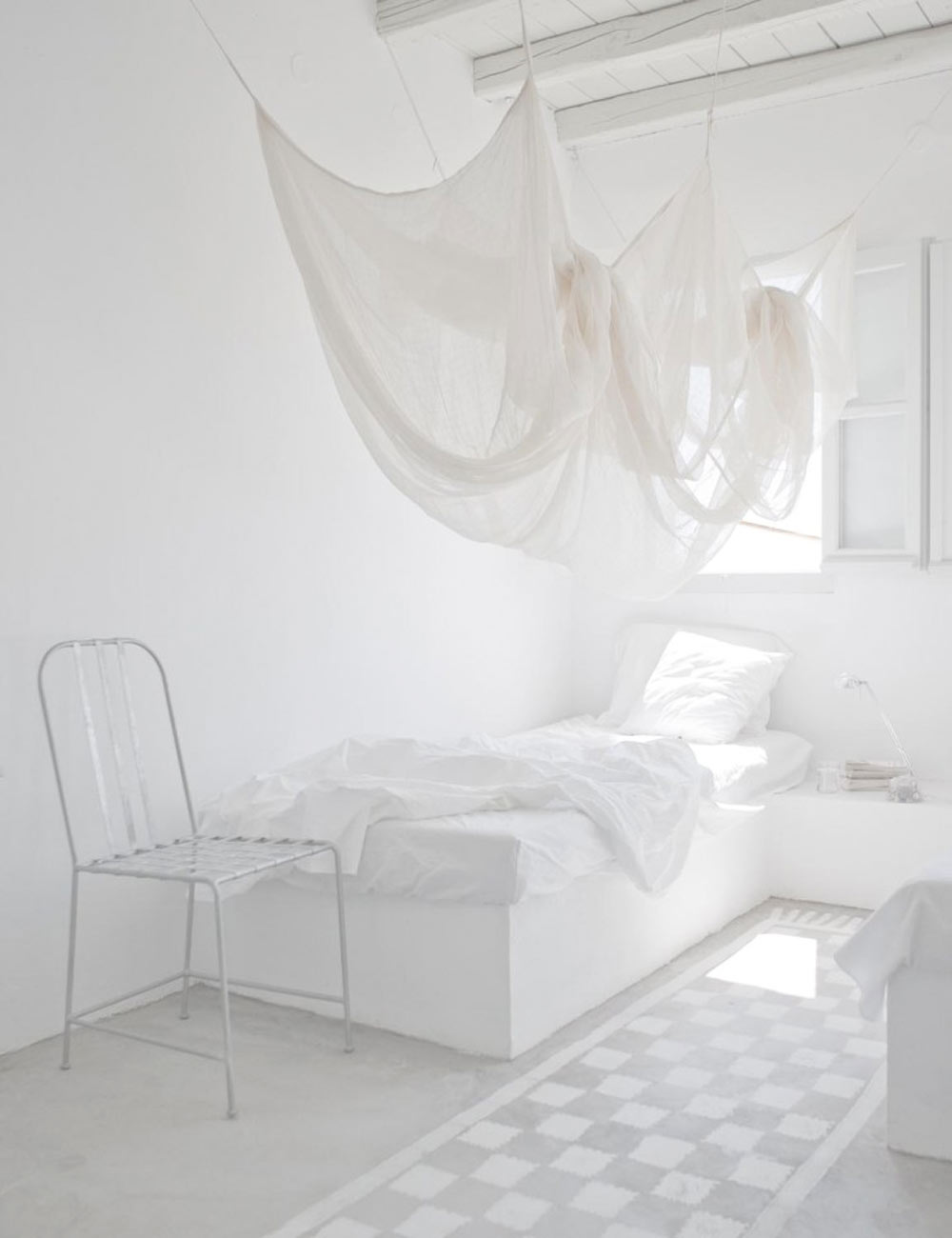 Oracle, Fox, Sunday, Sanctuary, White, Out, White, Interiors, Window, white, bedroom
