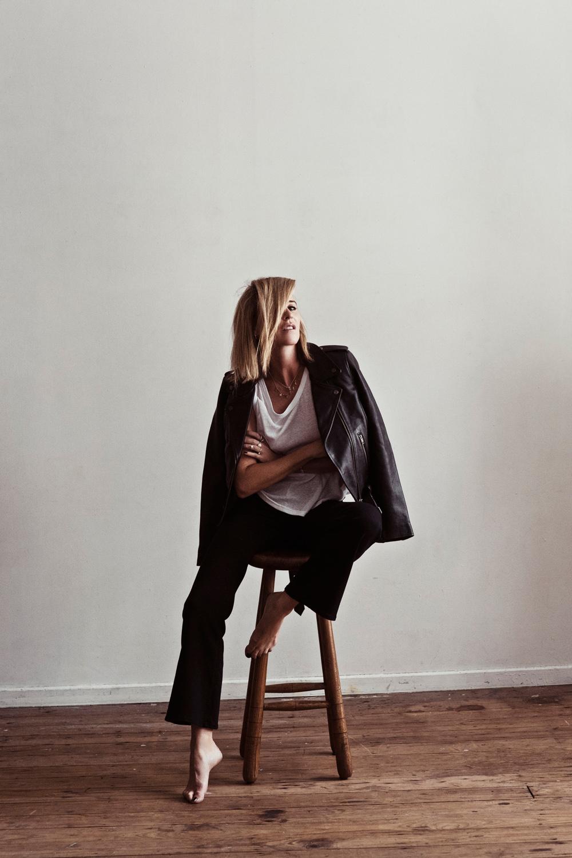 Neuw denim, denim jeans, leather jacket, black jeans, celine sunglasses, oracle fox